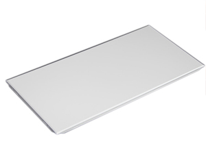 Square edge plain acoustic ceiling